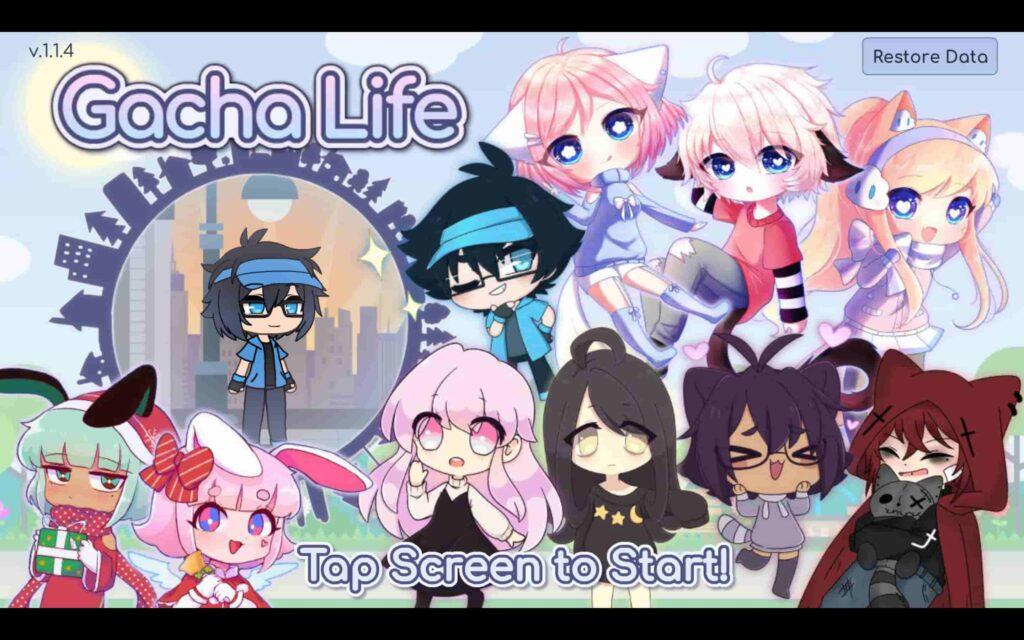 Gacha Life Game on Windows