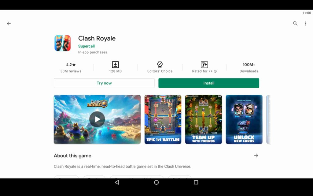 Install Clash Royale on PC