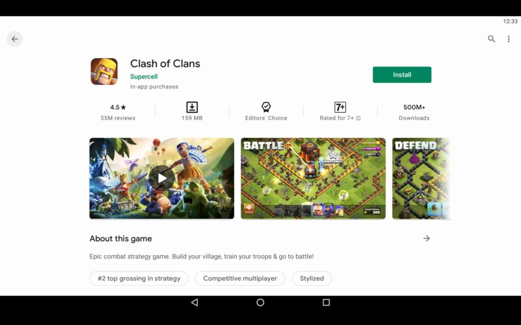 Install Clash of Clans on PC