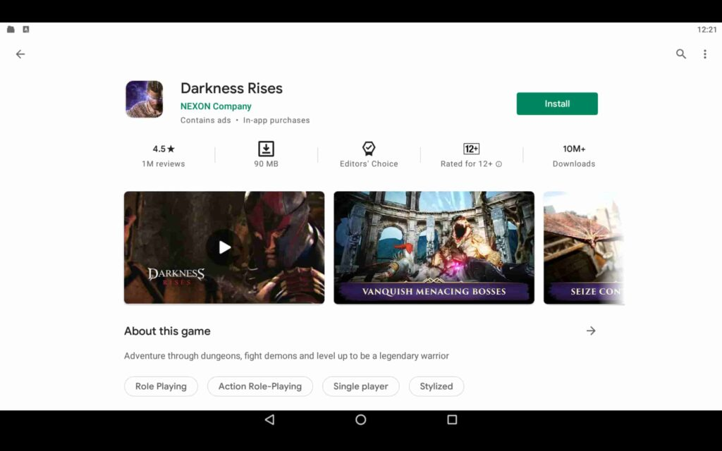 Install Darkness Rises on PC