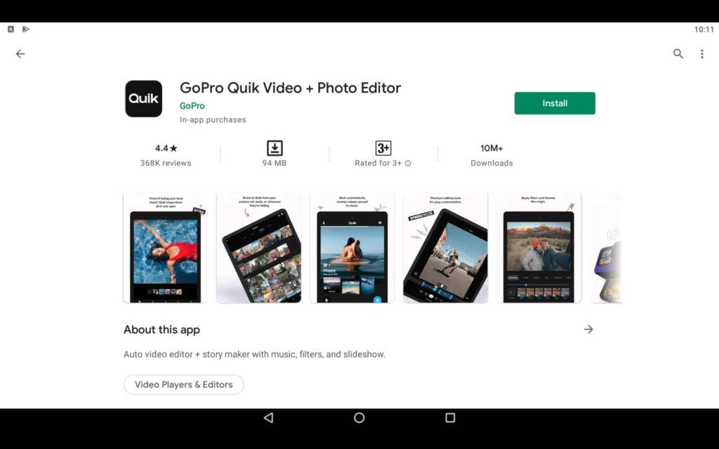 Install GoPro App on PC