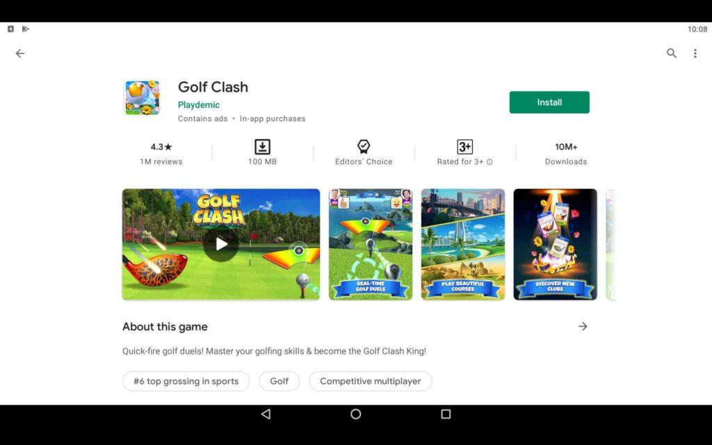 Install Golf Clash on PC