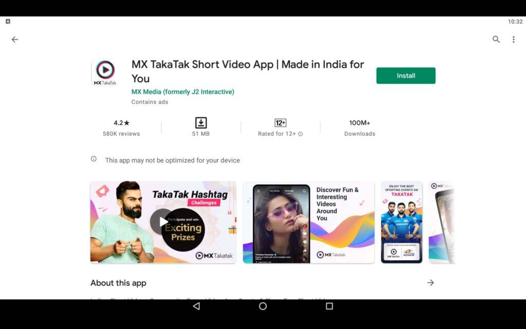 Install Short Video App