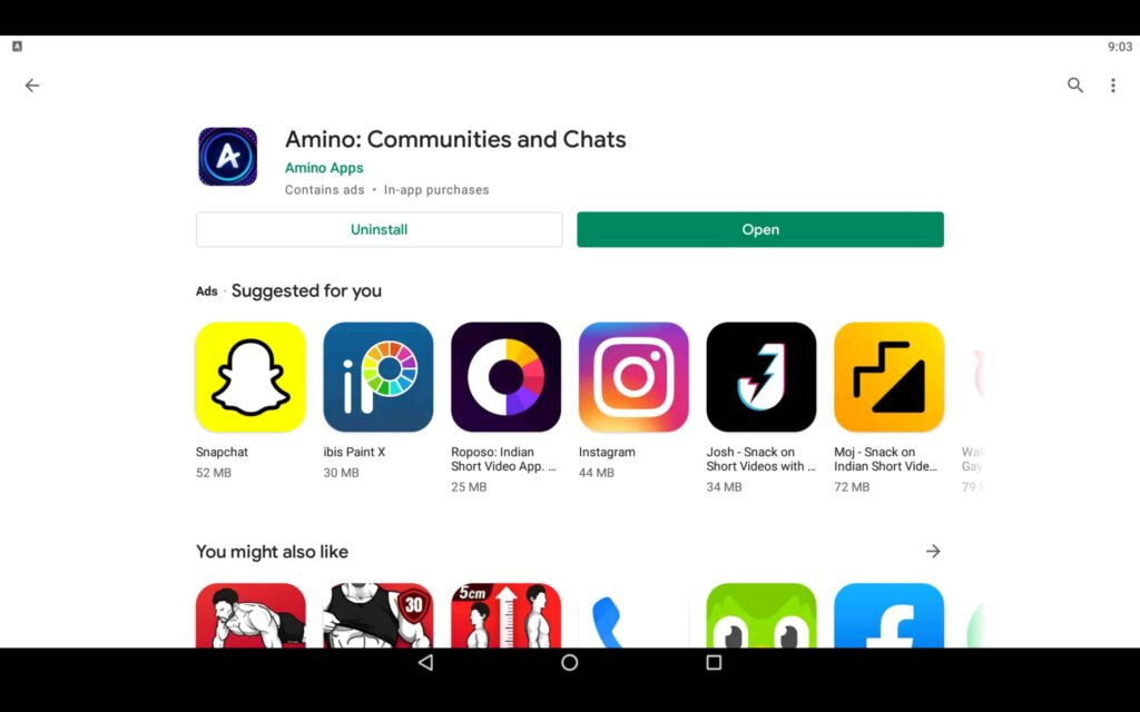 Open Chat App