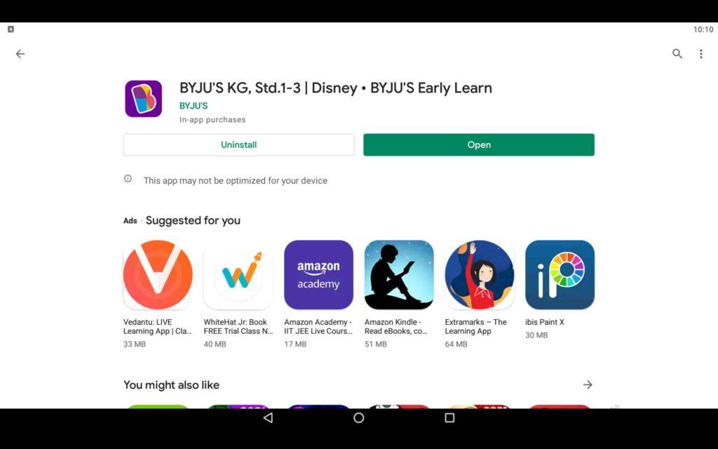 Open Learning App