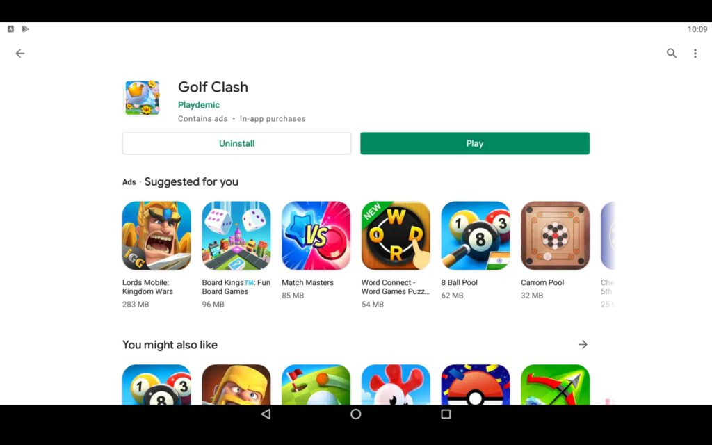 Play Golf Game