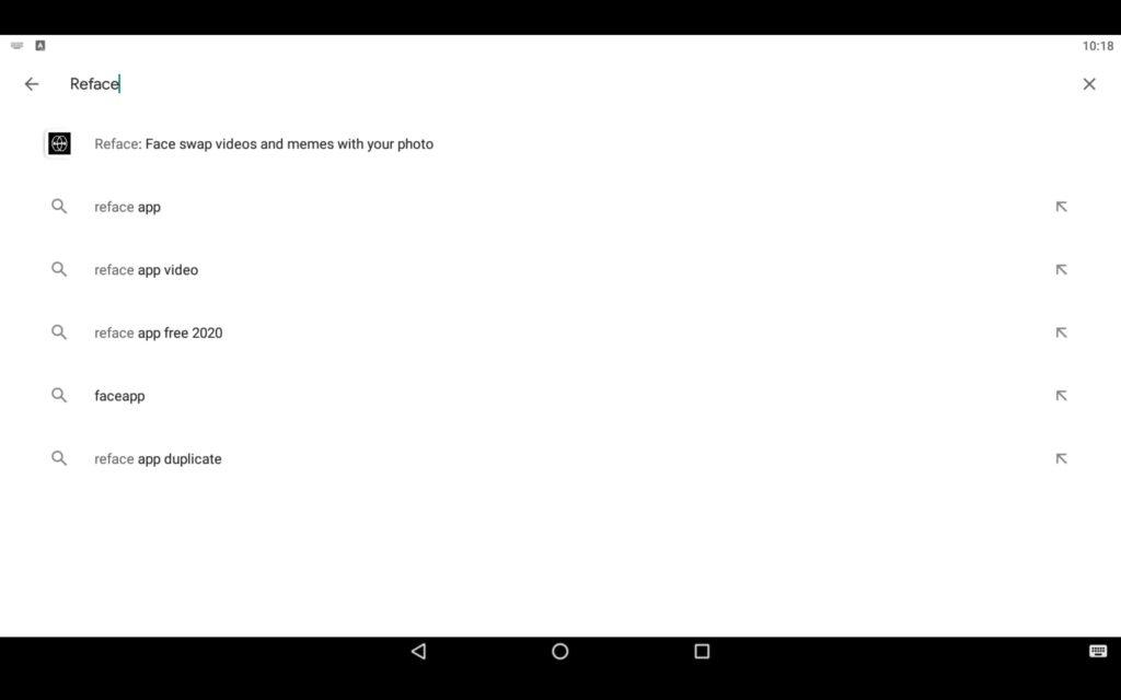 Search Face Swap App