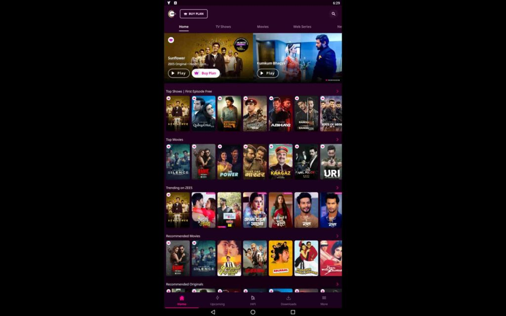 Download Zee 5 For PC