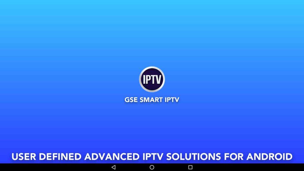 GSE Smart IPTV Windows App