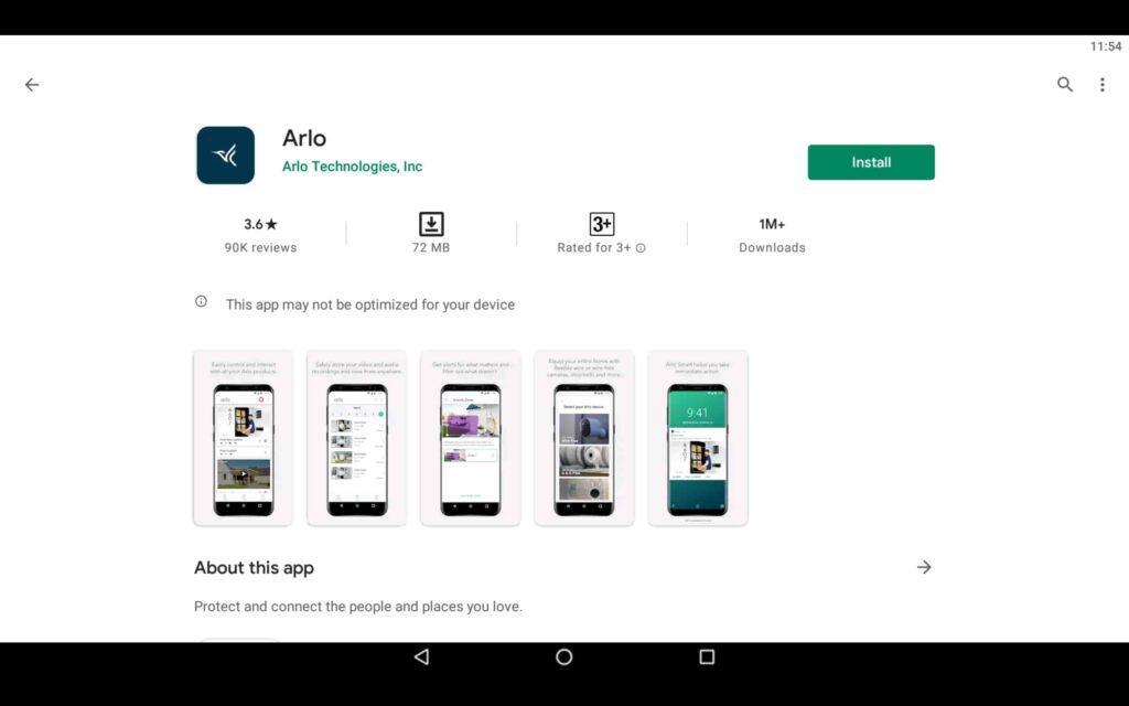 Install Arlo App on PC