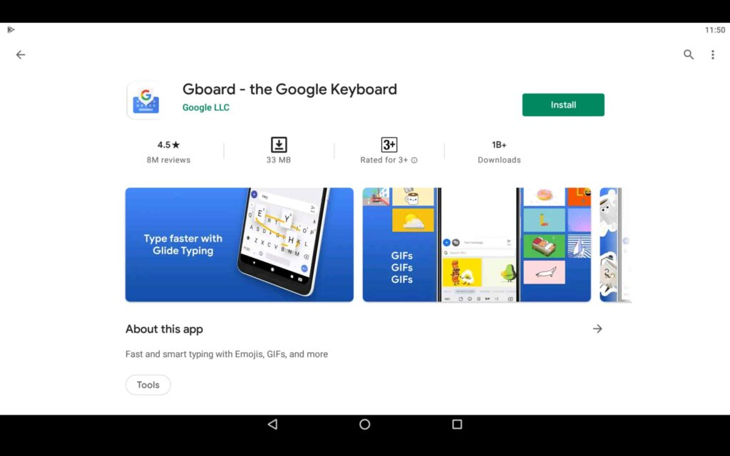 Install Gboard on PC
