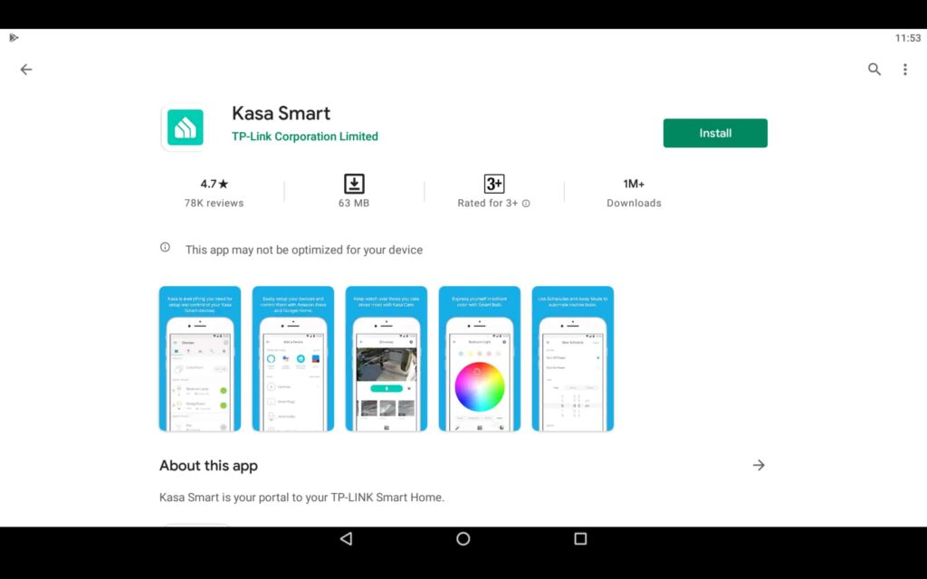 Install Kasa Smart on PC