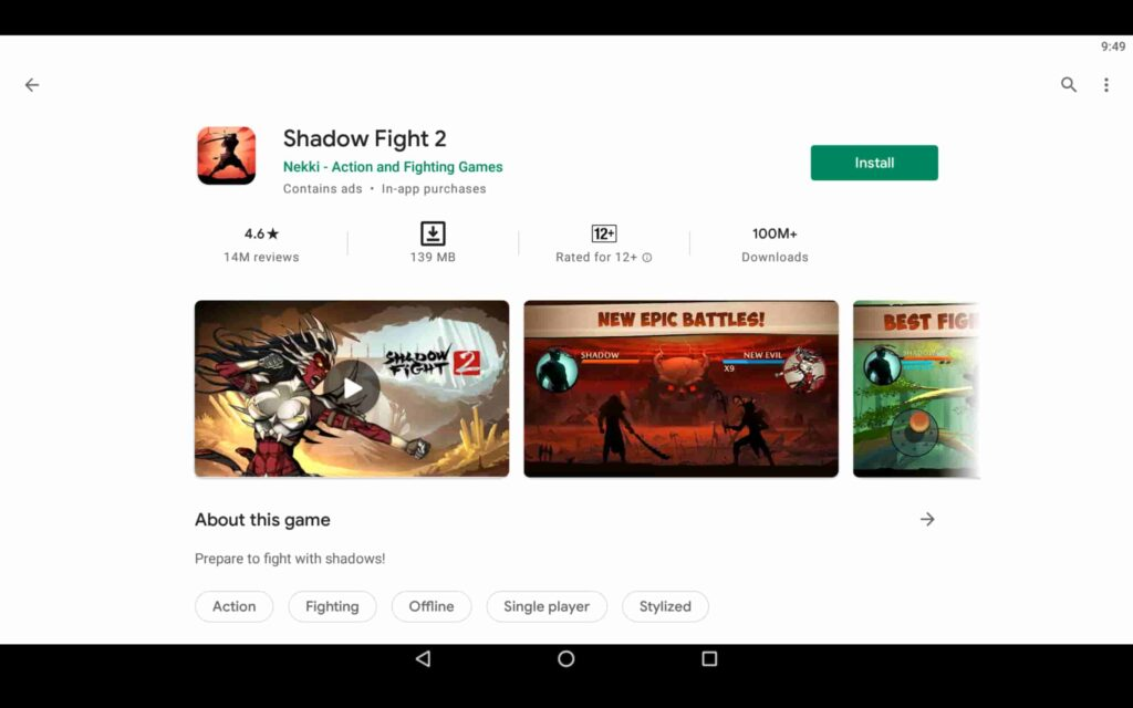 Install Shadow Fight 2 on PC