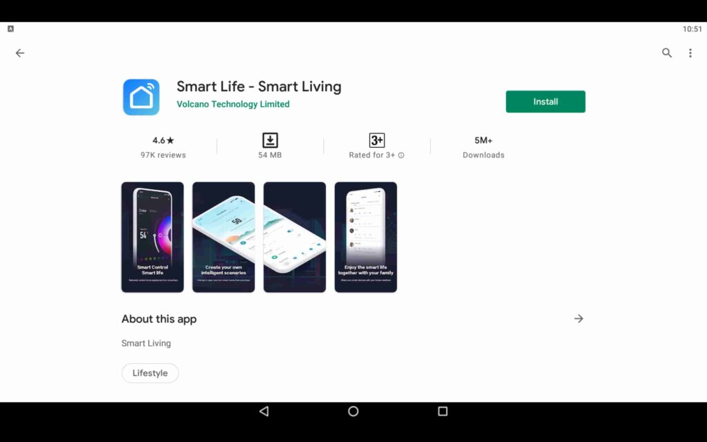 Install Smart Life on PC