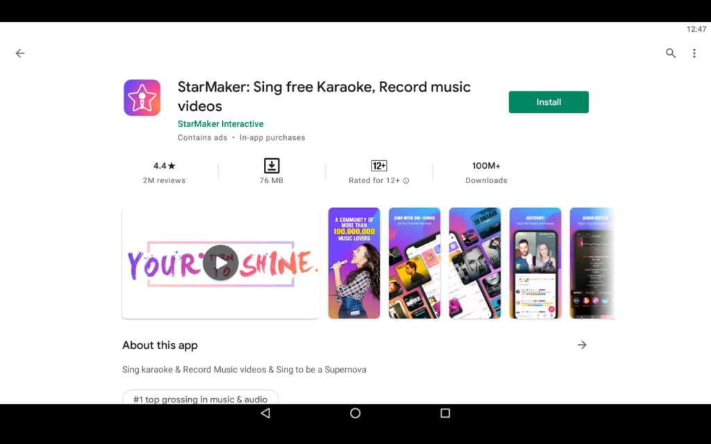 Install StarMaker on PC
