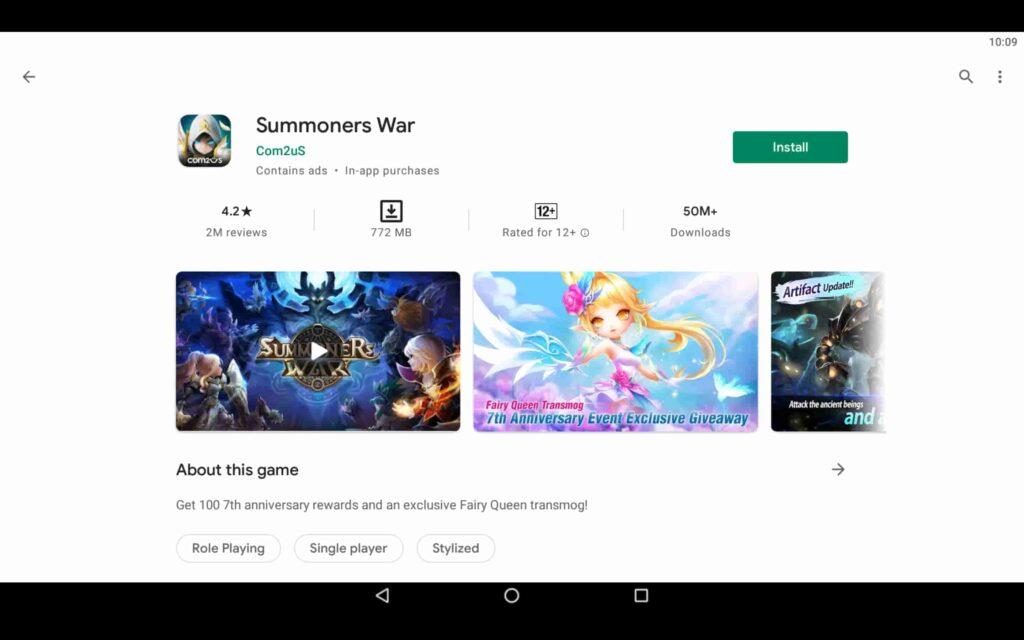 Install Summoners War on PC