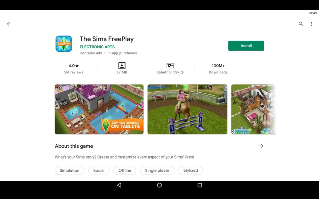 Install The Sims Freeplay on PC