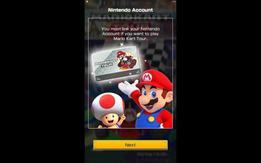 Mario Kart Tour Windows Game
