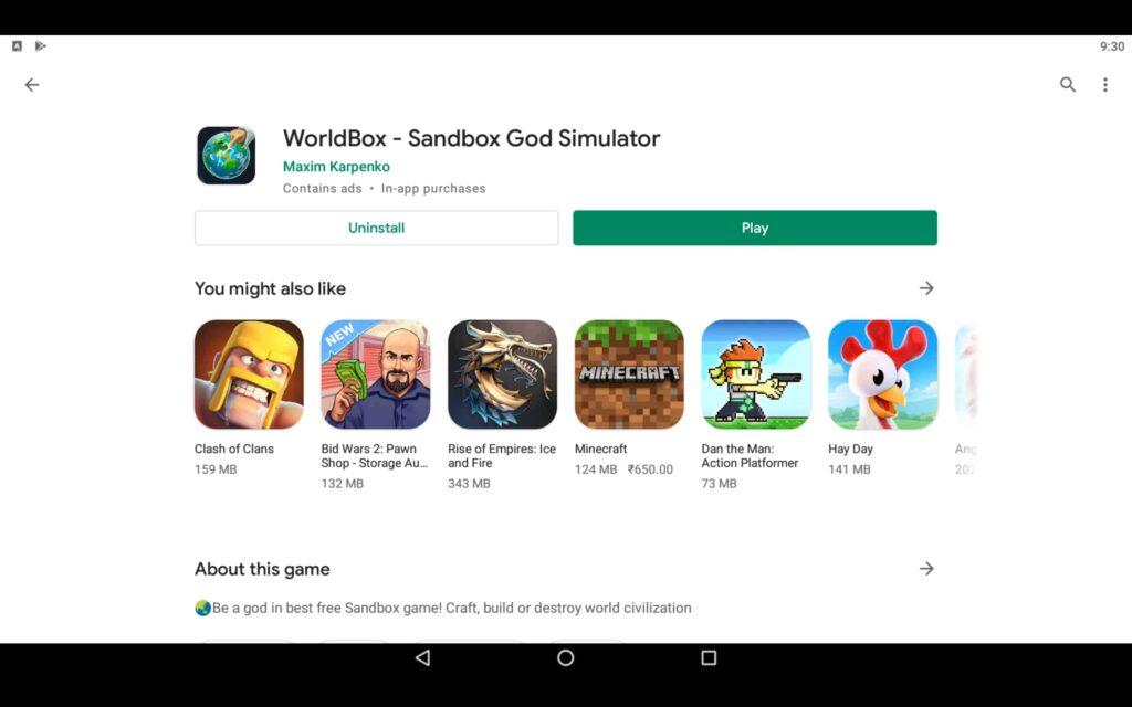 Open God Simulator Game