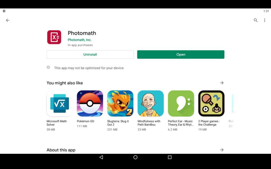 Open Math App