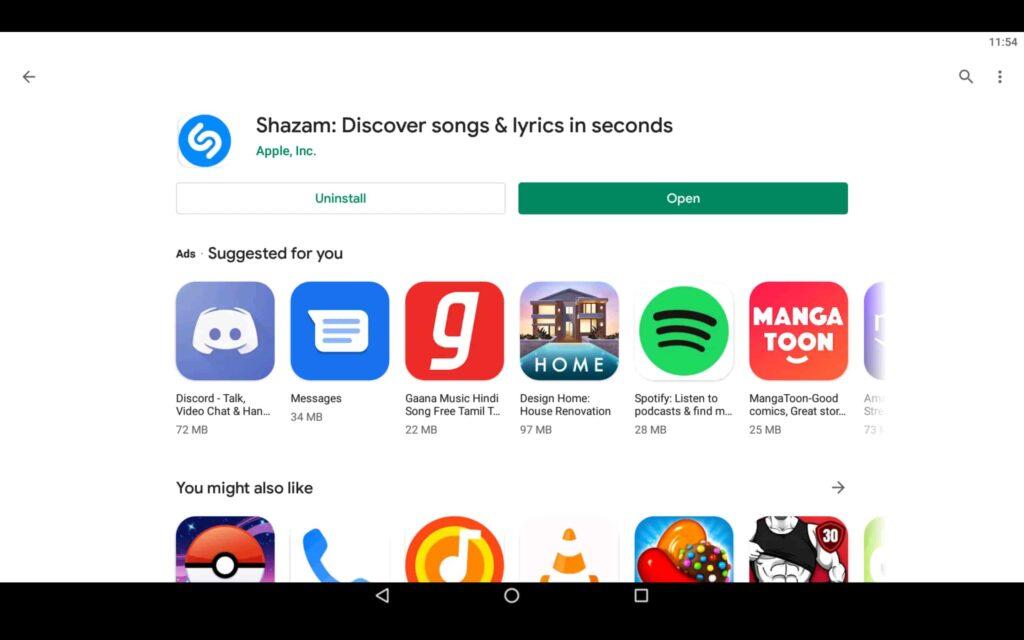 Open Music App