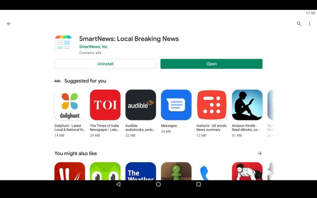 Open News App
