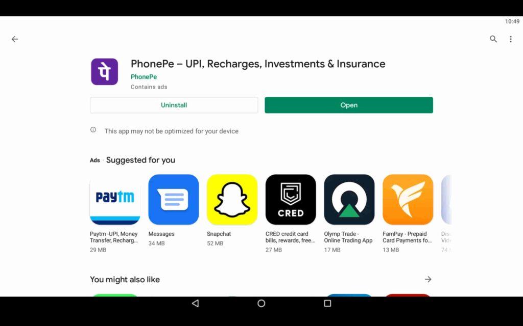 Open Payment App