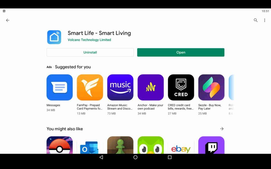 Open Smart Living App