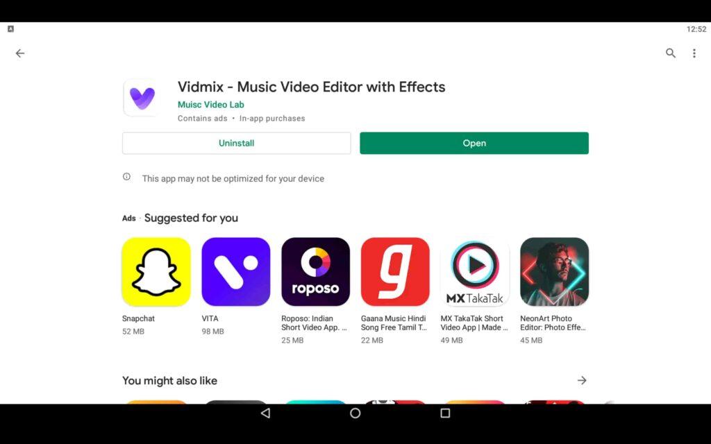 Open Video Editor App
