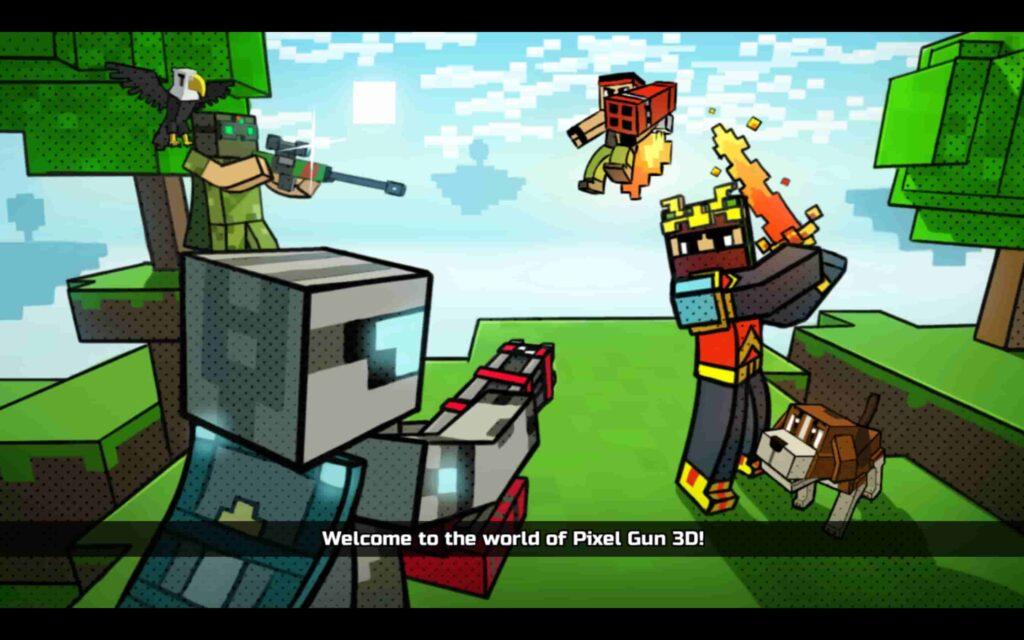 Pixel Gun 3D Windows Game