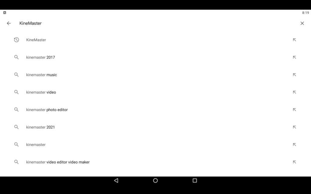 Search Video Editor App