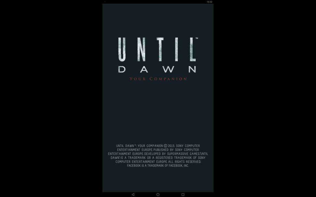 Until Dawn Windows Game