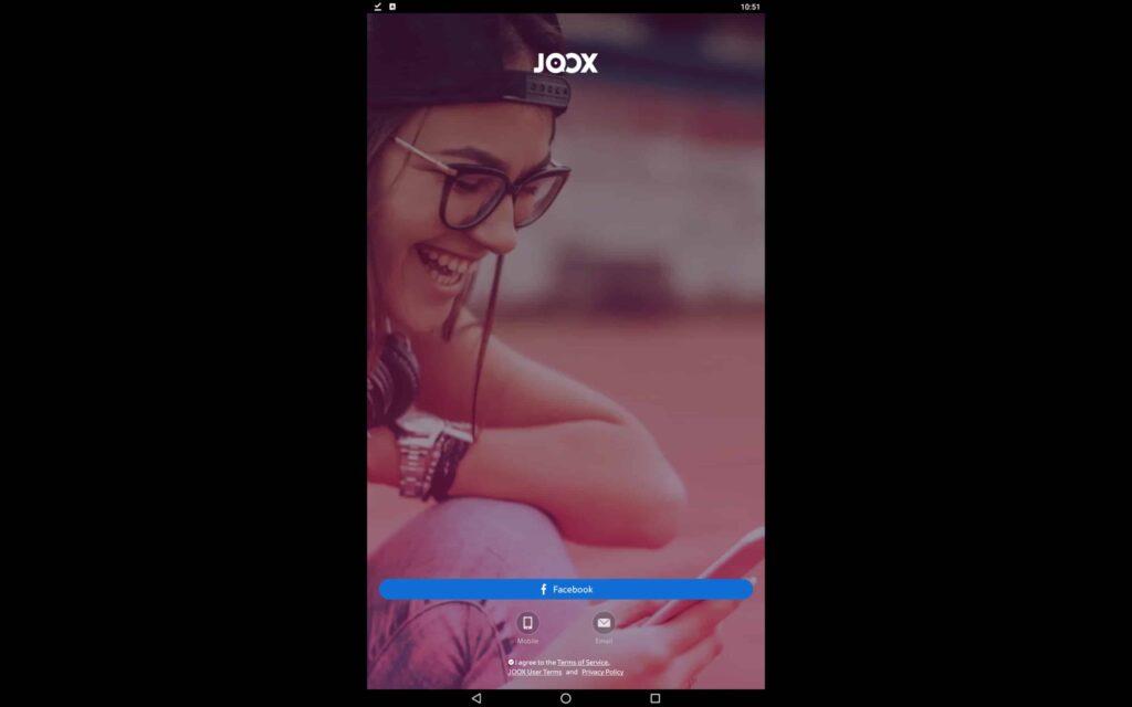 Use JOOX on PC